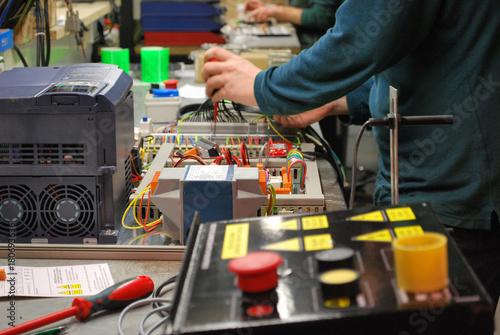 Photo Cableando los circuitos