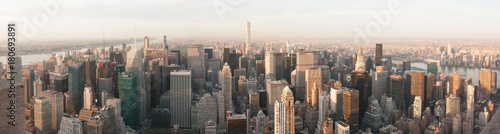 Deurstickers New York panorama skyline new york