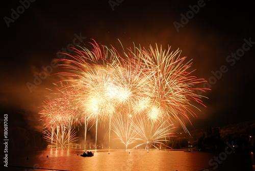 Fotografie, Obraz  feu d'artifice firework