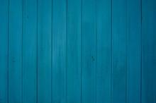 Maritime Holzkulisse Mit Blau Türkisen Brettern