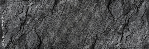 Foto auf AluDibond Steine horizontal black stone texture for pattern and background