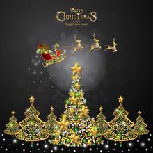 Christmas Greeting And New Yea...