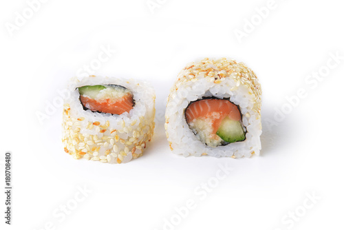 Photo sur Aluminium Sushi bar Delicious sushi rolls