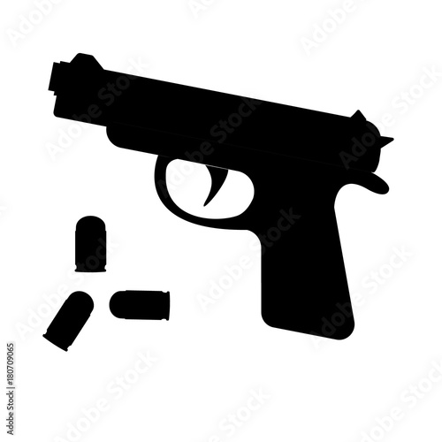 Fotografía  Firearms and bullets