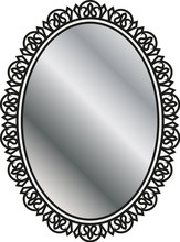 Forged Mirror Frame