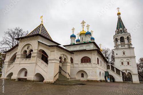 Foto op Plexiglas Kiev PAVLOVSKAYA SLOBODA, RUSSIA - NOVEMBER 11, 2017: Temple of the Annunciation of the Blessed Virgin Mary