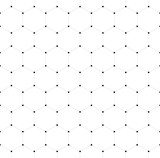 Abstract seamless pattern background. Hexagonal net of solid lines with dots in the cross points. Vector illustration. - 180735005