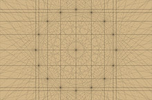Old Nautical Chart Vector Background Portolan Chart With Rhumbline Network Lines Grid With Compass