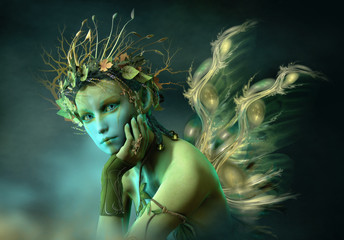 Little Forest Sylph, 3d CG