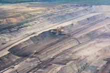 View Of Surface Coal Quarry, N...