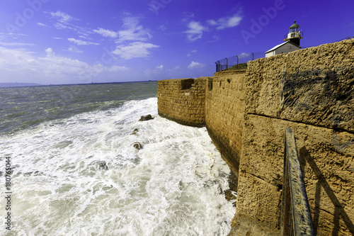 Old City of Acre. Canvas Print