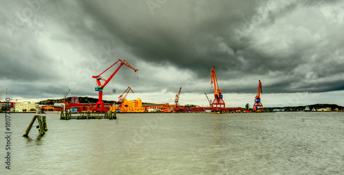 Plakat Harbour. Göteborg