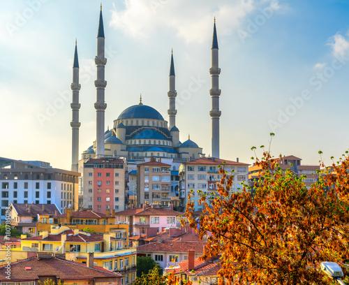 Photo  Kocatepe Mosque, Ankara,Turkey