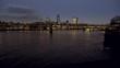 Millennium Bridge Southbank night