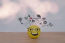 Happy Smiley Yellow Ball  Wear...