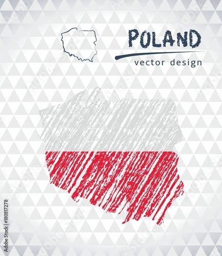 poland-vector-map-with-flag-inside