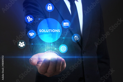 Fotografía  Business, Technology, Internet and network concept