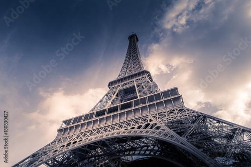 Tour Eiffel w Paryżu - Francja - Europa