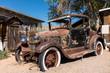 Oldtimer an der Route 66 in Arizona