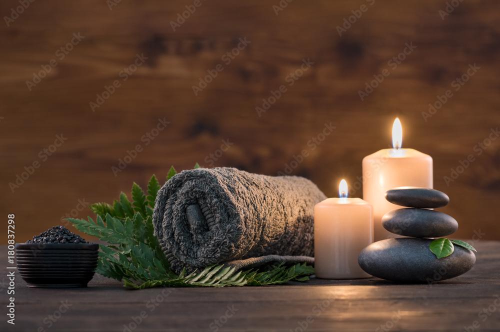 Fototapety, obrazy: Spa treatment set