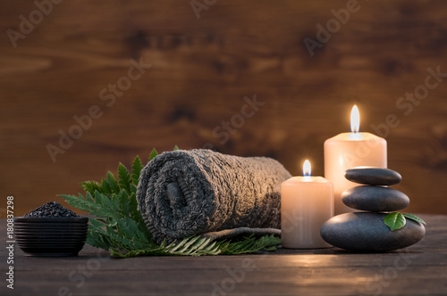 Acrylic Prints Spa Spa treatment set