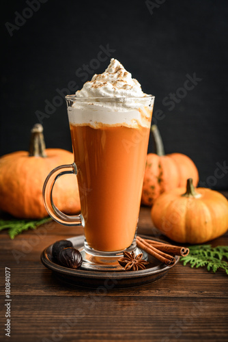 Photo Pumpkin spice latte
