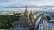 Russia, Saint-Petersburg, The Church of the Resurrection of Christ The Savior on Blood