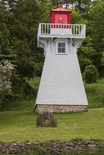 Kagawong Lighthouse On Manitou...