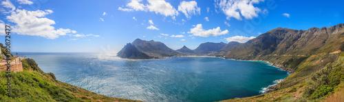 Fotografie, Obraz  Panoramaaufnahme von der Küstenstraße vom Kap der guten Hoffnung in Richtung Kap