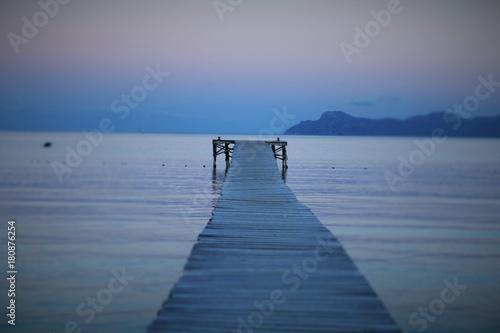 Photo sur Aluminium Caraibes Meer und Berge