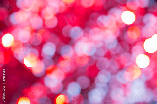 festive bright background with a bokeh of glowing lights christmas new year background