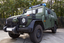 German Armored Military Police...