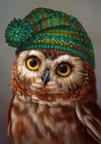 сова в шапке - 180896250