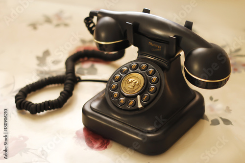 Vintage Old Home Phone Buy This Stock Photo And Explore