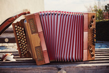 Old Austrian Accordion