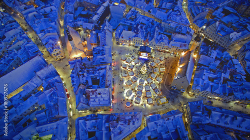 Snow in Tallinn
