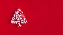 Christmas Tree Made Of Pepperm...