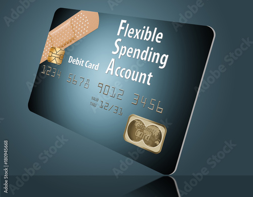 Fotomural This is a flexible spending account debit card.