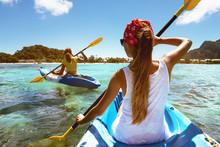 Kayaking Travel Tropical Sea B...