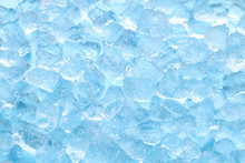 Winter Blue Ice Cube Texture B...