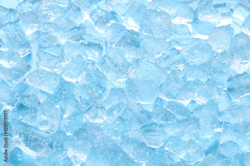 Fotografie, Tablou winter blue ice cube texture background