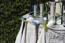 Hang Clothes Under The Sun