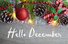 Hello December.Christmas Decor...
