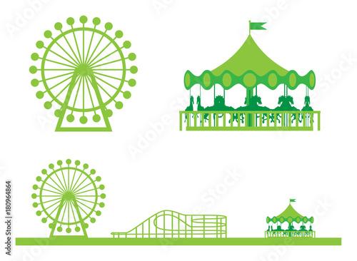 Poster Amusementspark 遊園地