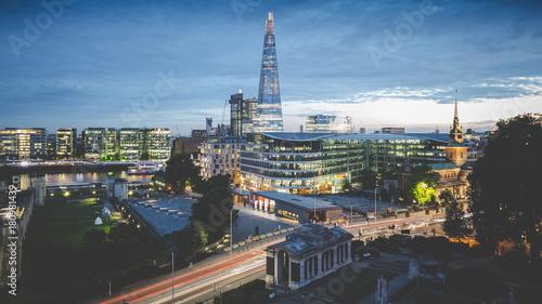 Obraz na płótnie The Shard, Londyn.