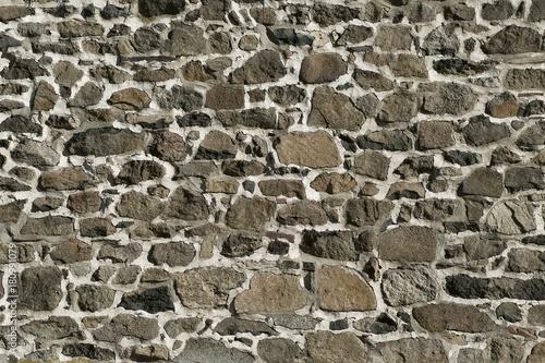 Fotografie, Obraz  Fieldstone wall.