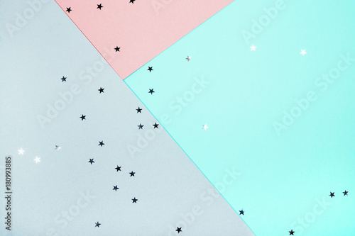 Fototapety, obrazy: abstract geometric festive background