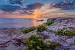 Leinwandbild Motiv Sunset over Quiberon