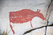 Prehistoric Rock Carving