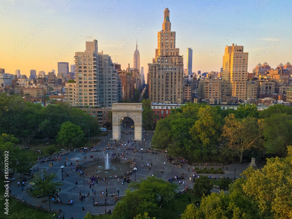 Fototapety, obrazy: Washington Square Park